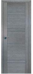 Межкомнатная дверь 2.80XN грувд, стекло графит