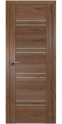 Межкомнатная дверь 2.80XN солинас темный, стекло матовое