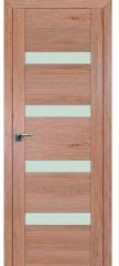 Межкомнатная дверь 2.81XN солинас светлый, стекло матовое
