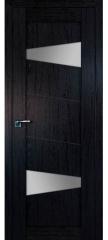 Межкомнатная дверь 2.84XN даркбраун, стекло матовое