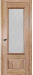 Межкомнатная дверь 2.90XN солинас светлый, стекло крупный ромб