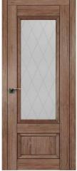 Межкомнатная дверь 2.90XN солинас темный, стекло крупный ромб