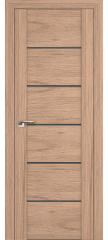 Межкомнатная дверь 99XN солинас светлый, стекло матовое