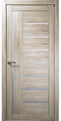 Межкомнатная дверь 2110 серый велюр