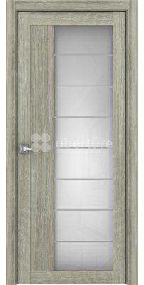 Межкомнатная дверь 2112 серый велюр