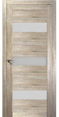 Межкомнатная дверь 2126 серый велюр