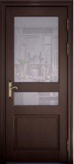 Межкомнатная дверь ВЕРСАЛЬ 40006, дуб французский