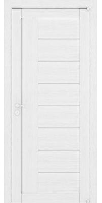 Межкомнатная дверь 2110 белый велюр