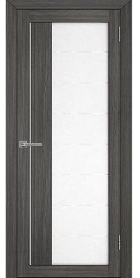 Межкомнатная дверь 2112 велюр графит