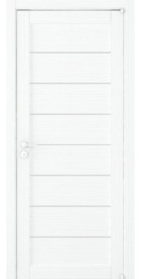 Межкомнатная дверь 2125 белый велюр