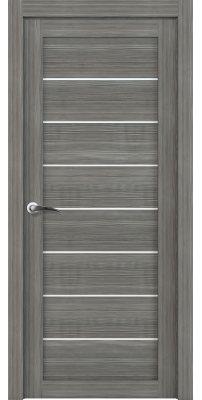 Межкомнатная дверь 2125 велюр графит
