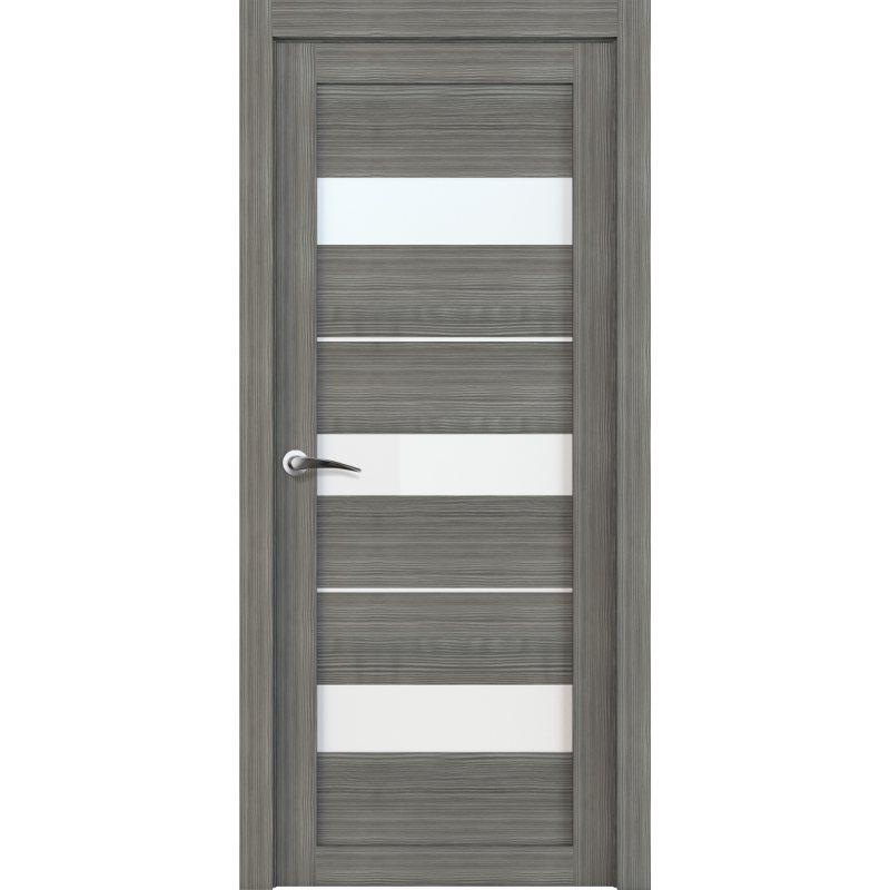 Межкомнатная дверь 2126 велюр графит