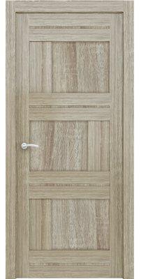 Межкомнатная дверь 2180 серый велюр