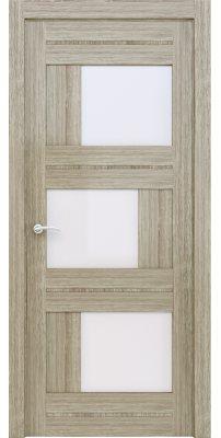Межкомнатная дверь 2181 серый велюр