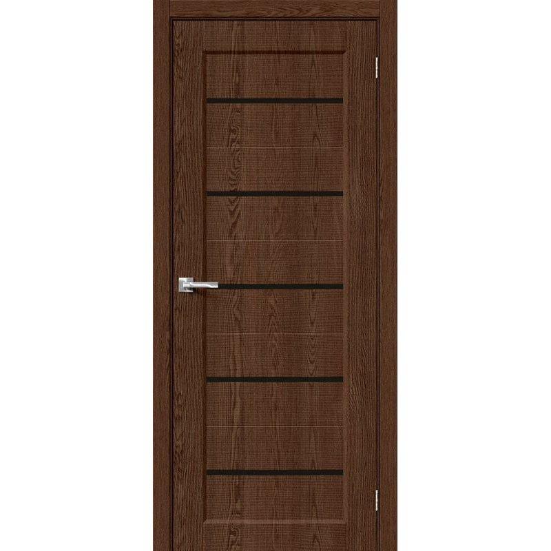 Межкомнатная дверь Мода-22 black line brown dreamline