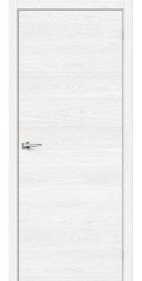 Межкомнатная дверь Браво-0 white skyline