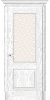 Межкомнатная дверь КЛАССИКО-13 silver ash ПО