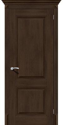Межкомнатная дверь КЛАССИКО-32 dark oak ПГ