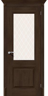 Межкомнатная дверь КЛАССИКО-33 dark oak ПO