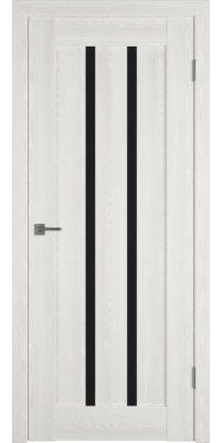 Межкомнатная дверь Line 2 bianco P black gloss