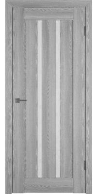 Межкомнатная дверь Line 2 grey P white gloss
