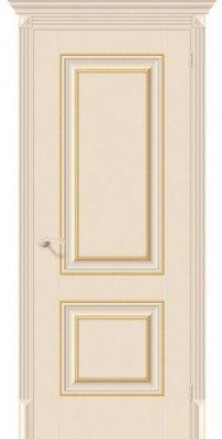 Межкомнатная дверь КЛАССИКО-32G-27 ivory ПГ