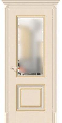 Межкомнатная дверь КЛАССИКО-33G-27 ivory ПО