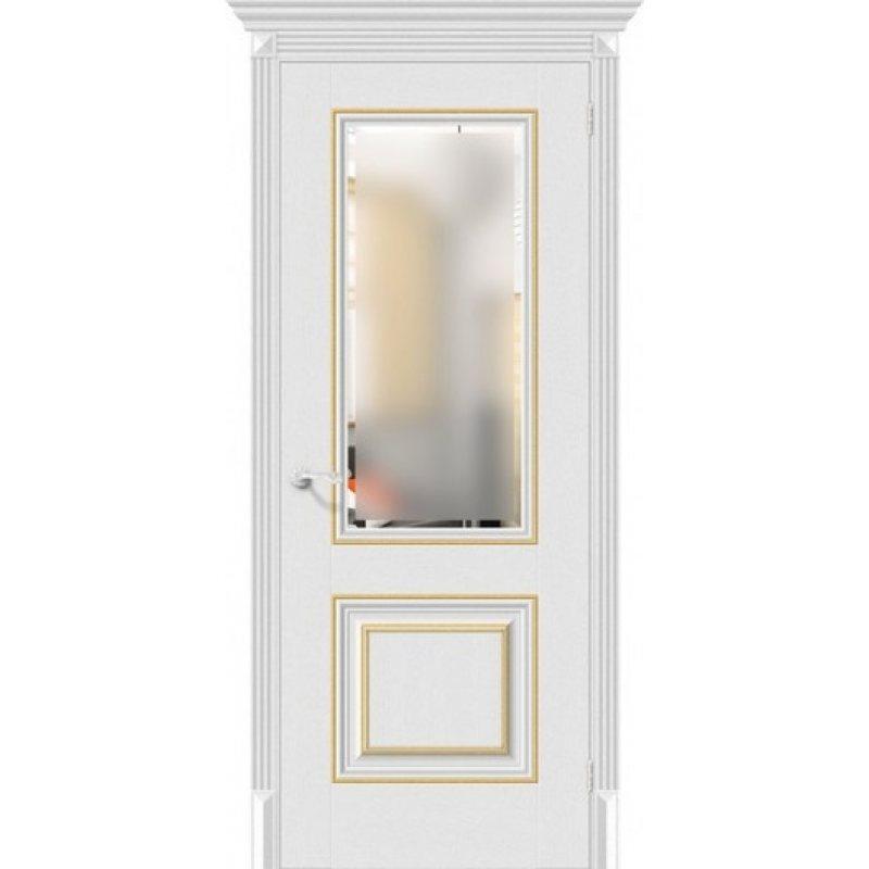 Межкомнатная дверь КЛАССИКО-33G-27 virgin ПО