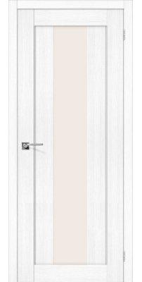 Межкомнатная дверь ПОРТА-25 alu snow veralinga