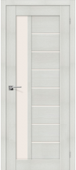 Межкомнатная дверь ПОРТА-27 bianco veralinga