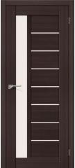 Межкомнатная дверь ПОРТА-27 wenge veralinga