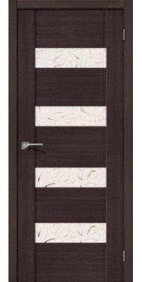 Межкомнатная дверь Vetro VМ4 Wenge Veralinga «Silver Art»