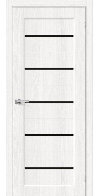 Межкомнатная дверь Мода-22 black line white dreamline