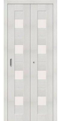 Складная дверь ПОРТА 23 bianco veralinga