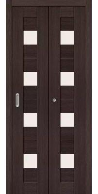 Складная дверь ПОРТА 23 wenge veralinga