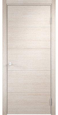 Межкомнатная дверь ТУРИН 1 дуб бежевый вералинга