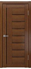 Межкомнатная дверь ЛУ-27 темный орех