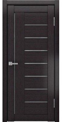 Межкомнатная дверь ЛУ-17 сатинат/венге