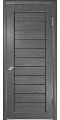 Межкомнатная дверь ЛУ-21 серая