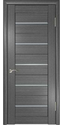 Межкомнатная дверь ЛУ-22 серая