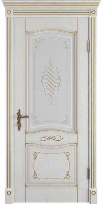 Межкомнатная дверь Vesta bianco classic PG ПО art cloud