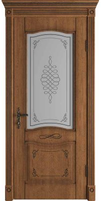 Межкомнатная дверь Vesta honey classic  PB ПО art cloud
