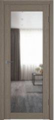 Межкомнатная дверь X-32 Brun Oak зеркало