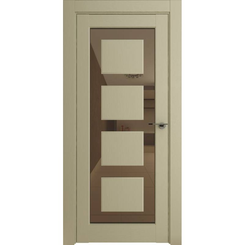 Межкомнатная дверь Neo 00001, серена керамик ПДЗ bronze