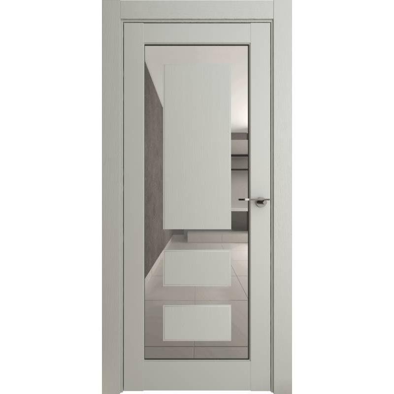 Межкомнатная дверь Neo 00005, серена светло-серый ПДЗ grey