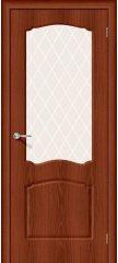 Межкомнатная дверь Альфа-2 italiano vero/white crystal