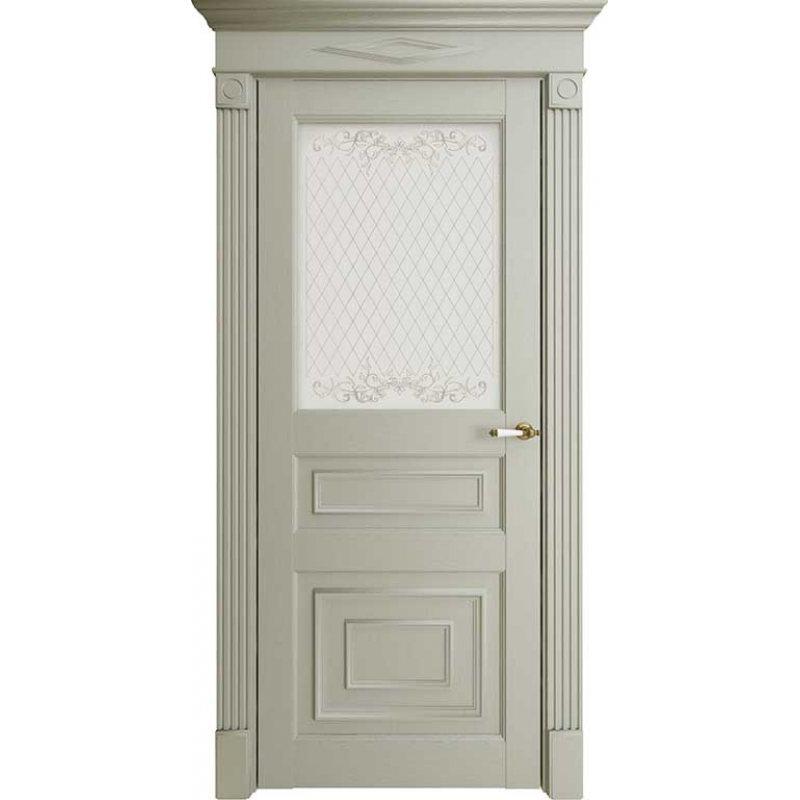 Межкомнатная дверь Florence 62001, серена светло-серый ПО