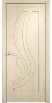 Межкомнатная дверь ЛОТОС беленый дуб ПГ