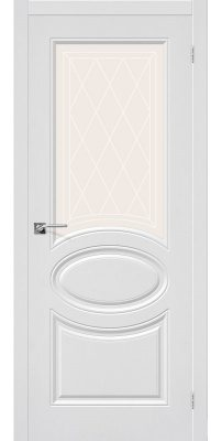 Межкомнатная дверь СКИННИ-21 белый