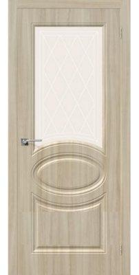 Межкомнатная дверь СКИННИ-21 шимо светлый